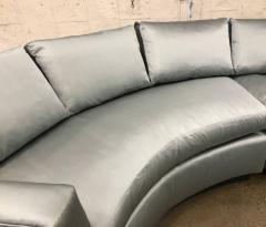Two Piece Sofa Sectional in Satin - 423420