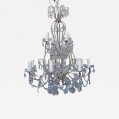 Two tier crystal beaded chandelier two tier crystal beaded chandelier 506221 aloadofball Choice Image