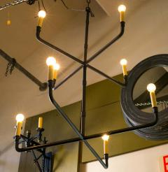 Two Tier Hand Made Iron Knox Chandelier - 1795738