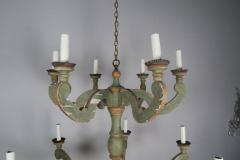 Two Tier Italian Style Painted Chandelier - 567931