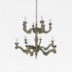Two Tier Italian Style Painted Chandelier - 571084