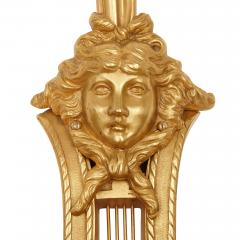 Two large Neoclassical style gilt bronze sconces - 1451597