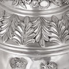 Two very large French silvered bronze vases - 1666825