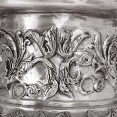 Two very large French silvered bronze vases - 1666826