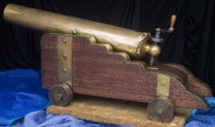 U S Navy Bronze 12lb Light Dahlgren Boat Howitzer - 628557