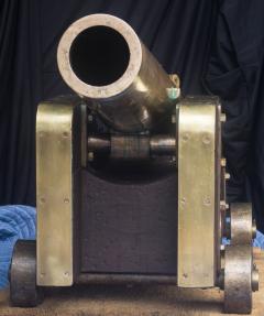 U S Navy Bronze 12lb Light Dahlgren Boat Howitzer - 628559