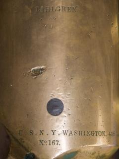 U S Navy Bronze 12lb Light Dahlgren Boat Howitzer - 628563