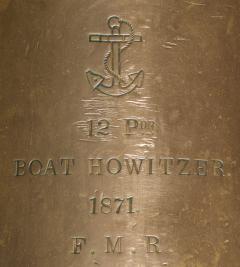 U S Navy Bronze 12lb Light Dahlgren Boat Howitzer - 628566