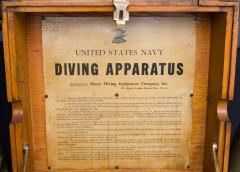 U S Navy Diving Air Pump Mark III by Morse - 689017