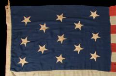 U S Navy Small Boat Ensign Flag with 13 Hand Sewn Stars - 639448