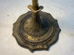 UNUSUAL DRAMATIC BAROQUE WHALE OIL STYLE FLOOR LAMP - 1237175