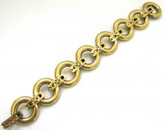 Ulmer et Cie Malachite and Gold Link Modular Jewel - 75735