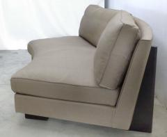 Umberto Asnago Semi circular Sectional Sofa by Umberto Asnago for Mobilidea Italy - 1142642