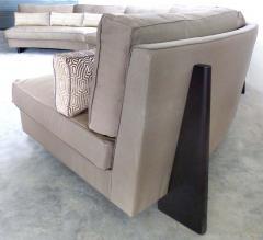 Umberto Asnago Semi circular Sectional Sofa by Umberto Asnago for Mobilidea Italy - 1142646