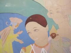 Umberto Brunelleschi Orientalist Lithograph and Watercolor by Umberto Brunelleschi - 225559