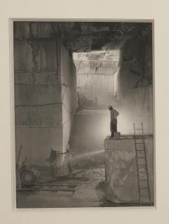 Underground Quarry Vintage Photo Joel Levick American Photographer - 1776753