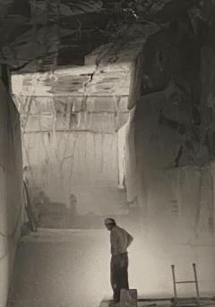Underground Quarry Vintage Photo Joel Levick American Photographer - 1776757