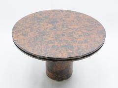 Unique Italian Dining table brass tortoise shells by Ottini Milano 1973 - 1335561