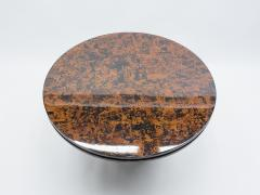 Unique Italian Dining table brass tortoise shells by Ottini Milano 1973 - 1335562