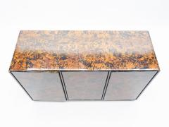 Unique Italian sideboard tortoise shells by Ottini Milano 1973 - 1336159
