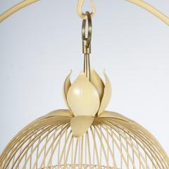 Unique Metal Bird Cage on Stand Italy 1950 - 1191788