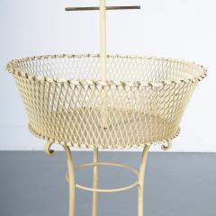 Unique Metal Bird Cage on Stand Italy 1950 - 1191790