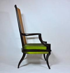 Unique Sculpted Tall Back Chair - 368800