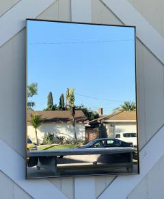 Unique and Stylish Solid Brass Wall Mirror - 1833371