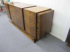 United Furniture Company Paul Evans style Walnut Sculptural Credenza Mid century Modern - 1775311