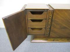 United Furniture Company Paul Evans style Walnut Sculptural Credenza Mid century Modern - 1775315