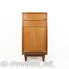 United Furniture Mid Century Walnut Nightstand Foyer Entry Console - 1869316