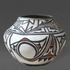 Unknown Artist Zuni Historic Pottery Jar - 38679