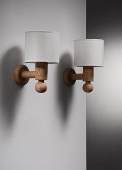 Uno Osten Kristiansson Pair of Uno Osten Kristiansson wall lamps for Luxus - 2128469