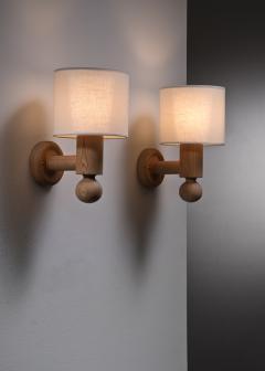 Uno Osten Kristiansson Pair of Uno Osten Kristiansson wall lamps for Luxus - 2128470