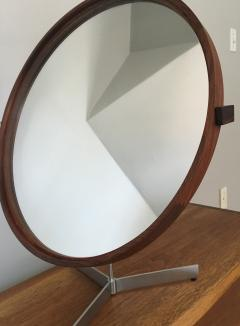 Uno Osten Kristiansson Rosewood Mirror by Uno and Otto Kristiansson 1958 - 175626