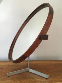 Uno Osten Kristiansson Rosewood Mirror by Uno and Otto Kristiansson 1958 - 175752