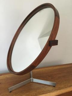 Uno Osten Kristiansson Rosewood Mirror by Uno and Otto Kristiansson 1958 - 175753