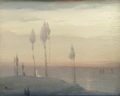 Untitled Hudson River Scene - 651593