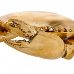 Unusual English brass box in the shape of a crab - 1954723