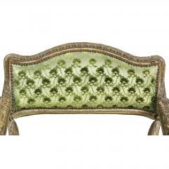 Unusual Louis XV Painted Armchair - 1568051