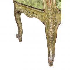 Unusual Louis XV Painted Armchair - 1568054