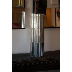 Unusual Lucite and Chrome 1970s Column Lamp - 1080799