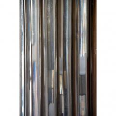 Unusual Lucite and Chrome 1970s Column Lamp - 1080801