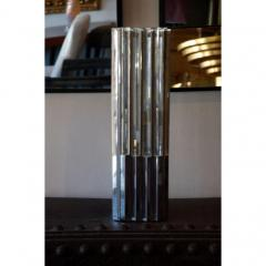 Unusual Lucite and Chrome 1970s Column Lamp - 1080803