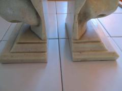 Unusual Pair of Italian Mid Century Modern Oversized Nose Bookends - 1629670