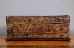 Unusual Palmwood Marquetry Box - 685812