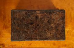 Unusual Palmwood Marquetry Box - 685813
