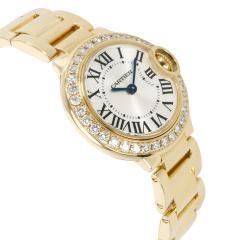 Unworn Cartier Ballon Bleu WE9001Z3 Women s Watch in 18kt Yellow Gold - 1365175