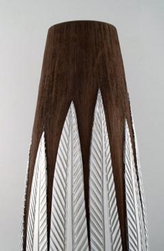 Upsala Ekeby Anna Lisa Thompson for Upsala Ekeby Paprika ceramic large floor vase - 1221861