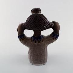 Upsala Ekeby Figure ceramics Girl with braided hair - 1348850